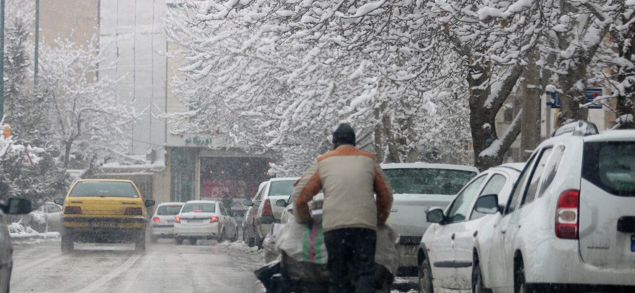 آغاز بارش برف و باران در استانهای غربی از عصر امروز
