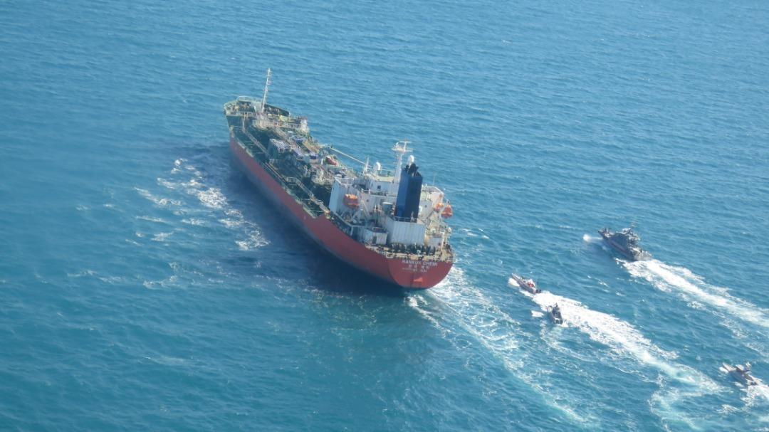ایران یک کشتی با پرچم کرهجنوبی را توقیف کرد