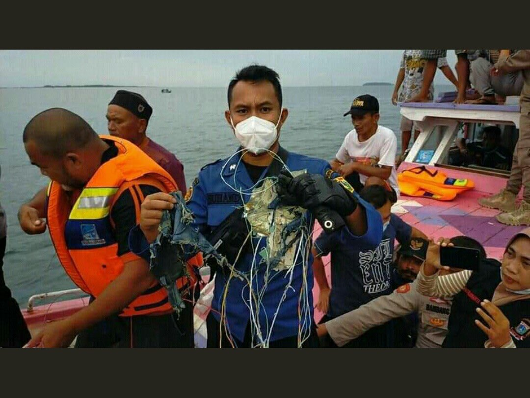 لاشه هواپیما اندونزی در شمال جاکارتا پیدا شد