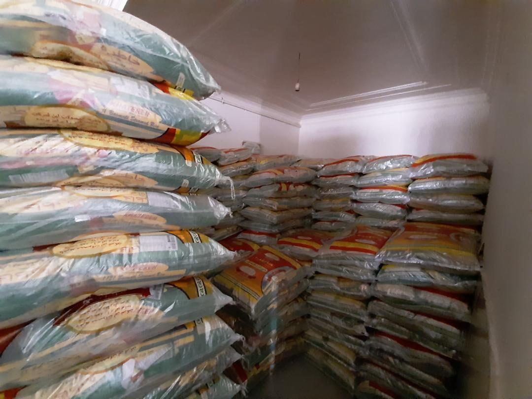 توزیع 25 تن برنج میان نیازمندان سبزوار