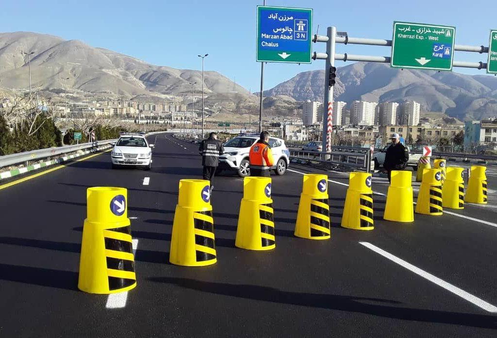 تردد در جاده های مازنداران برای بومی ها هم ممنوع شد!