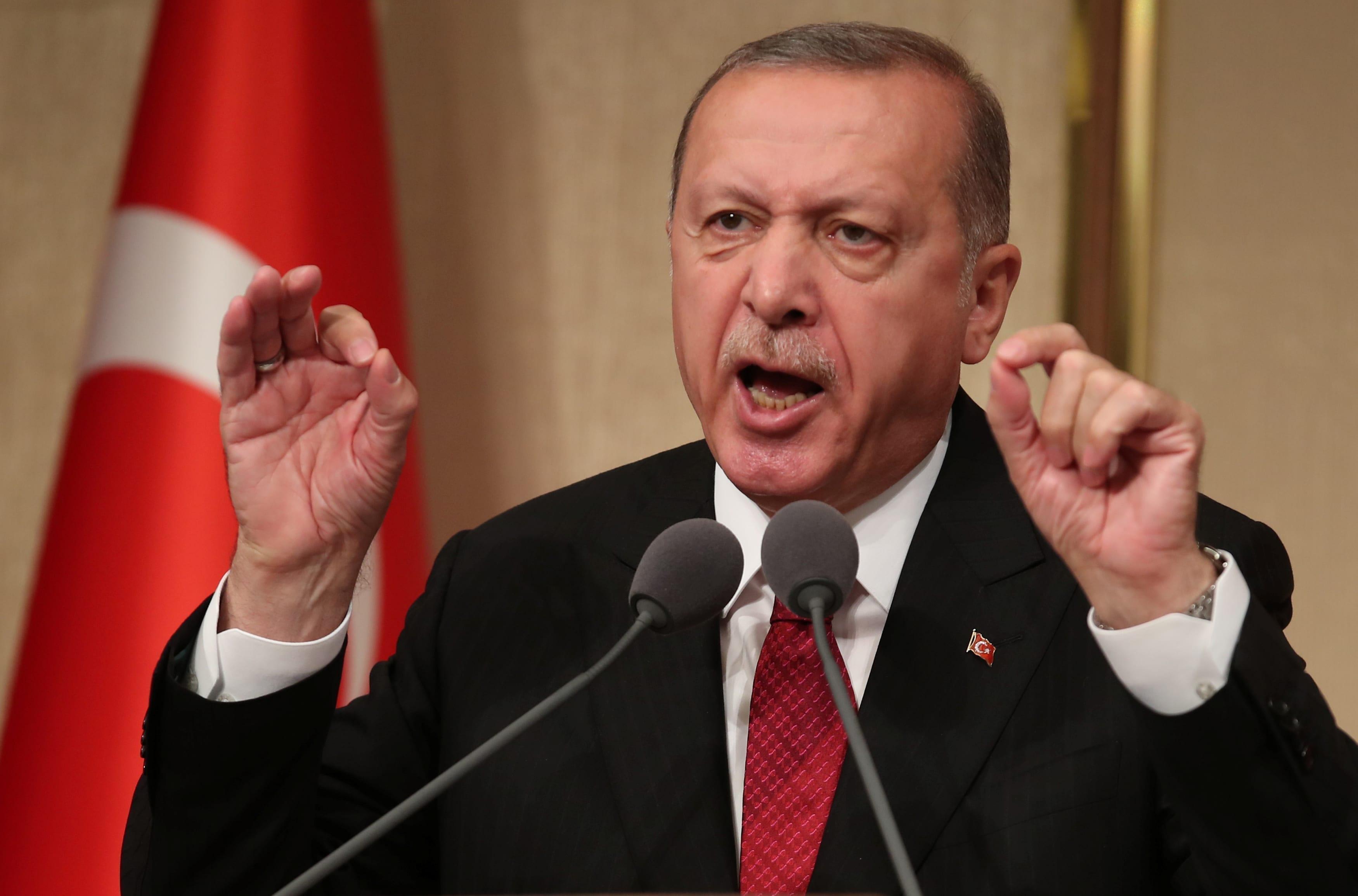اردوغان: آتش بس با خروج ارمنستان از قره باغ رخ می دهد