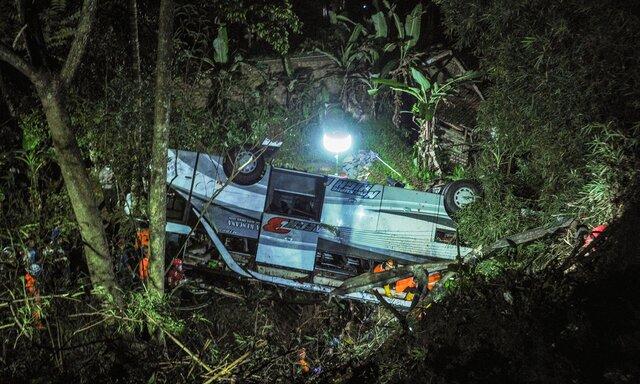 وقوع سانحه رانندگی مرگبار در اندونزی