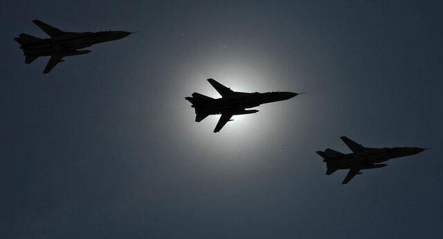 جنگندههای روسیه مواضع داعش را مورد هدف قرار دادند