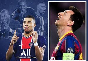 امباپه رکورد فوق ستاره بارسلونا را شکست