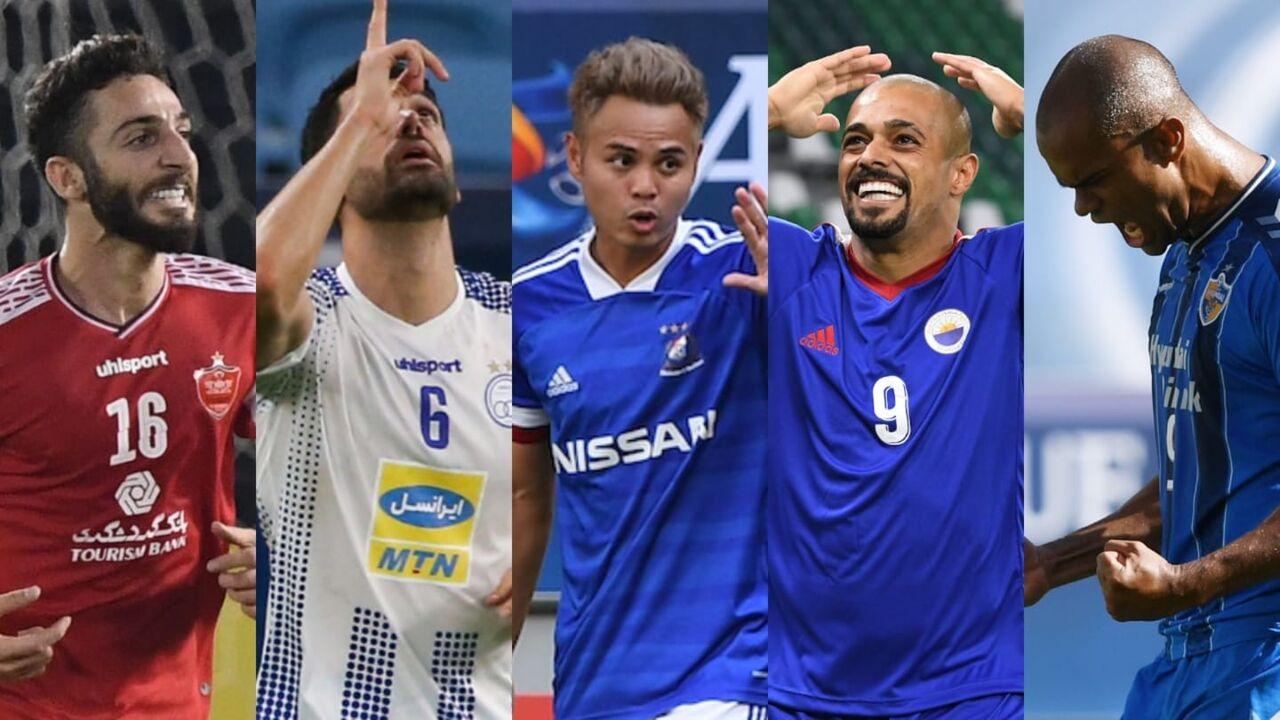 گل کریمی و عبدی نامزد بهترین گل لیگ قهرمانان آسیا شد