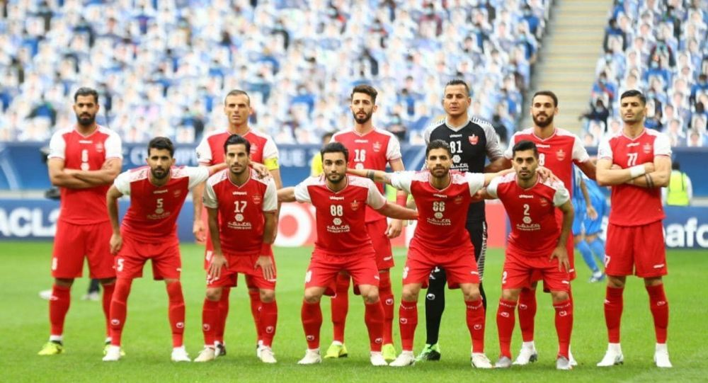 پرسپولیس ایران بهترین تیم باشگاهی در آسیا
