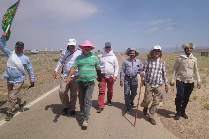 گزارش تصویری از سفر پیاده به مشهدالرضا (ع)