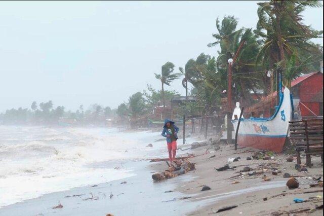 وقوع طوفان مرگبار در فیلیپین