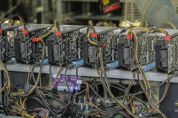 کشف ۳۳۴ دستگاه استخراج ارز دیجیتال از یک تعمیرگاه