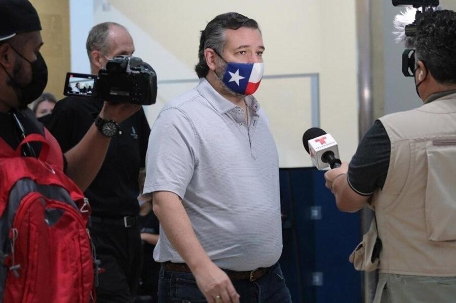 سناتور آمریکایی به تگزاس بازگشت