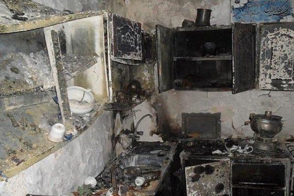 منزل مسکونی در جوادیه تهران منفجر شد