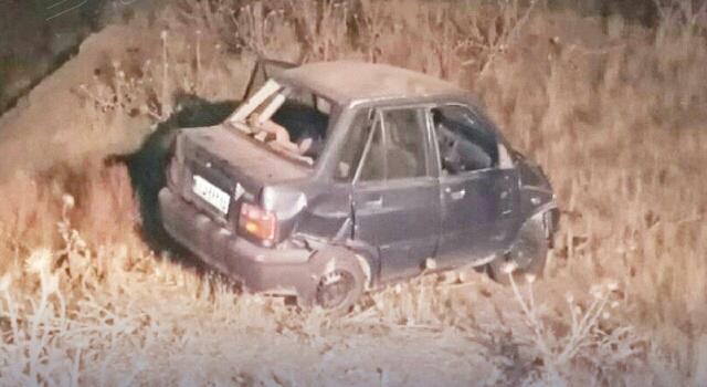 پنج مصدوم در واژگونی خودرو در محور سبزوار به بردسکن