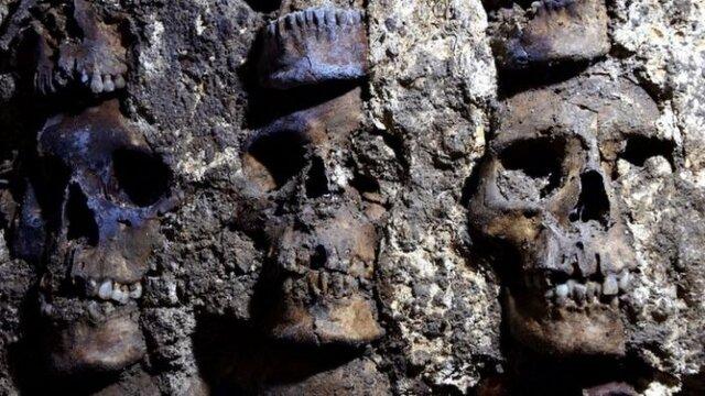 بخش جدیدی از «برج جمجمه» در مکزیک کشف شد