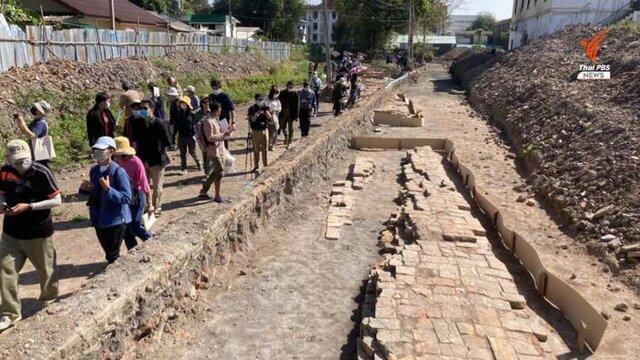 بقایای یک کاخ تاریخی در زیر زندان کشف شد