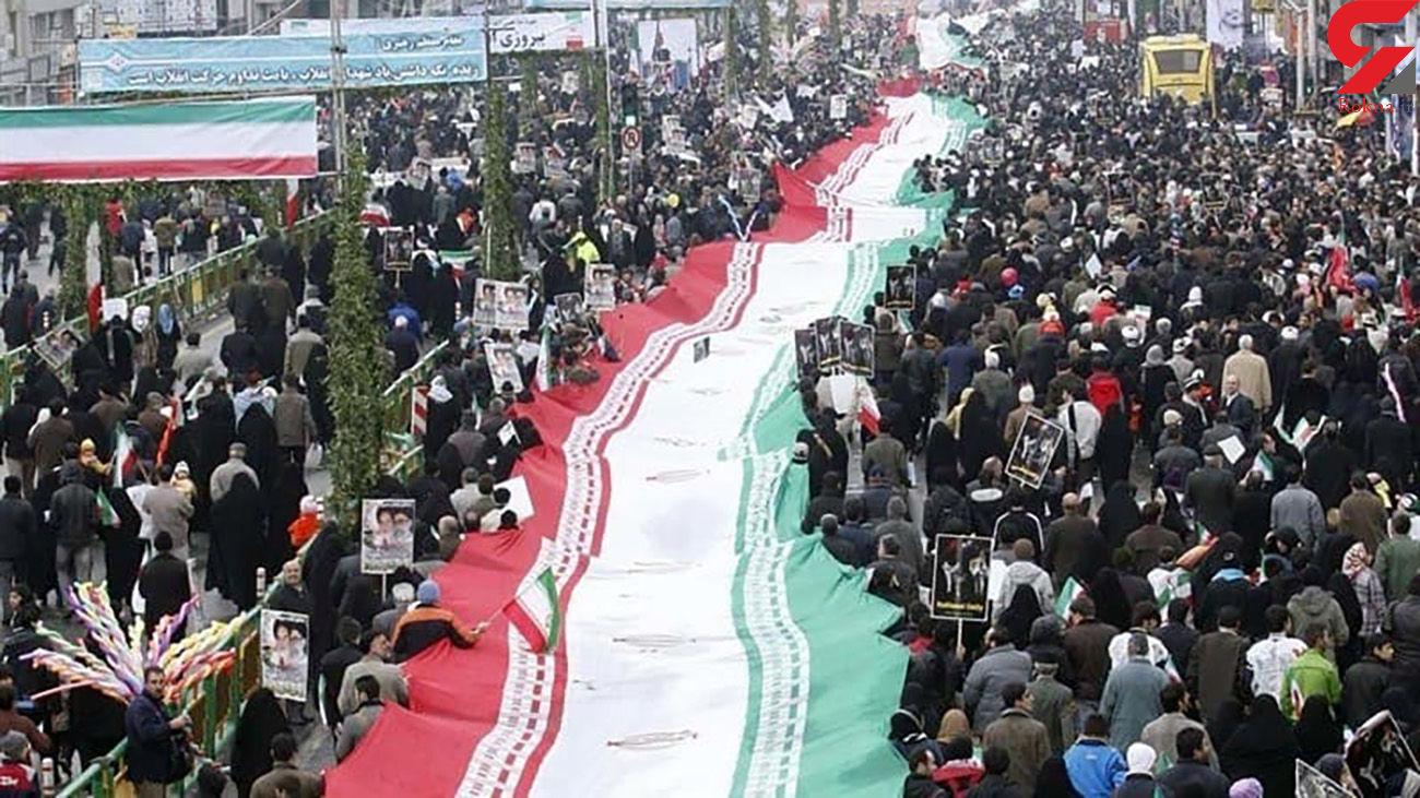 راهپیمایی 22 بهمن در تهران برگزار نمیشود