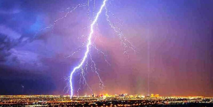 پیشبینی وقوع رگبار و رعد و برق در اغلب مناطق کشور