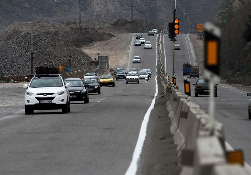 تردد روان و جو آرام جادهها در صبح پنجشنبه