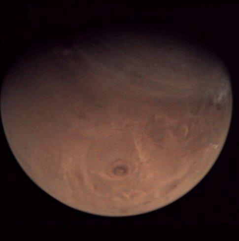 سال ۲۰۲۱ به مریخ نرسیده است