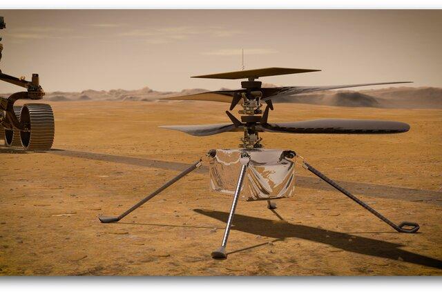 پرواز بالگرد مریخی نبوغ به تعویق افتاد