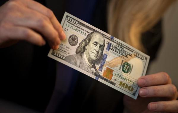 دلار منفی شد