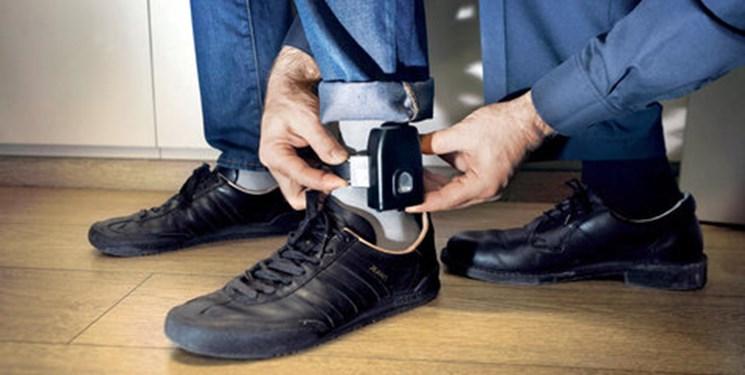 زندانیان به جای حبس، از پابند الکترونیکی استفاده میکنند