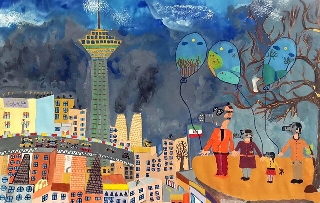 موفقیت کودکان ایرانی در جشنواره نقاشی ژاپن
