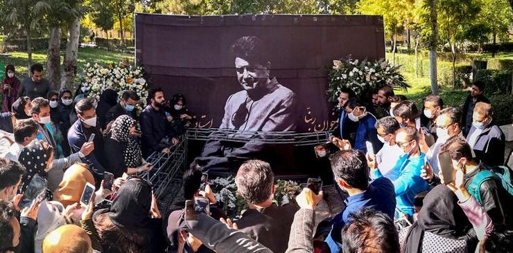 ای کاش استاد مرحوم محمدرضا شجریان در بم به خاک سپرده می شد