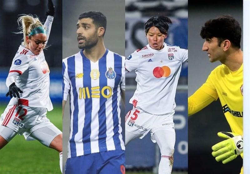بیرانوند، عابدزاده و طارمی نامزد بهترین لژیونر هفته فوتبال آسیا