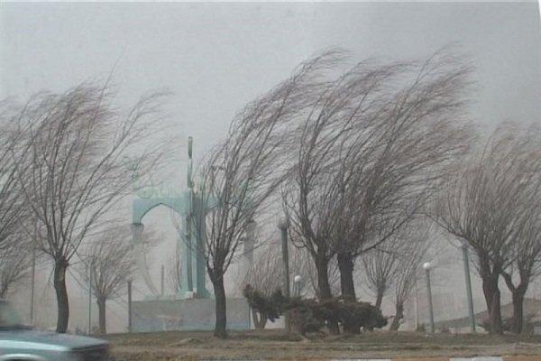 هشدار هواشناسی به وزش باد شدید و بارش تگرگ در استانها