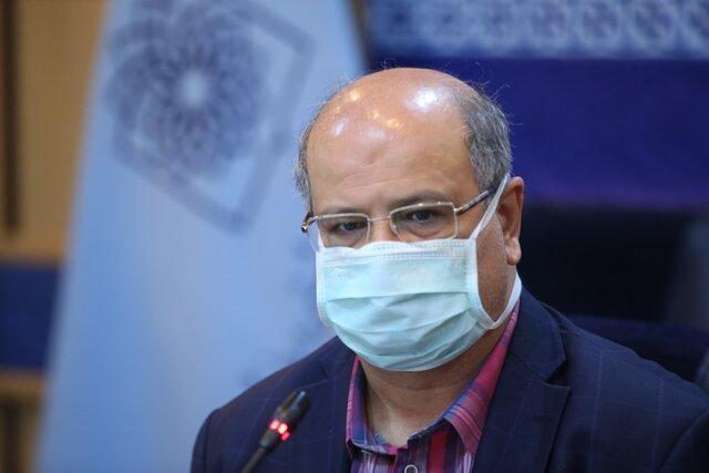 افزایش مبتلایان بستری شده در تهران