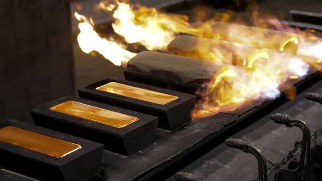قیمت طلا در بازار جهانی روند کاهشی داشته است