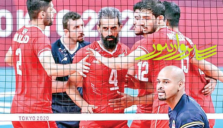 ایران در سومین دیدار رقابتهای والیبال المپیک به مصاف کانادا می رود