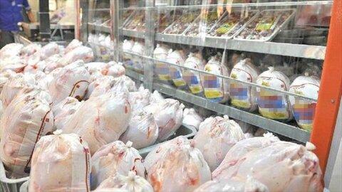 قیمت مرغ به ۲۲ هزار و ۵۰۰ تومان رسید