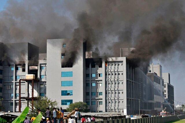 آتش سوزی مرگبار در بزرگترین شرکت تولیدکننده واکسن در جهان