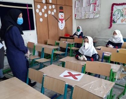 بازدیدهای مستمر بهداشتی از مدارس مشهد