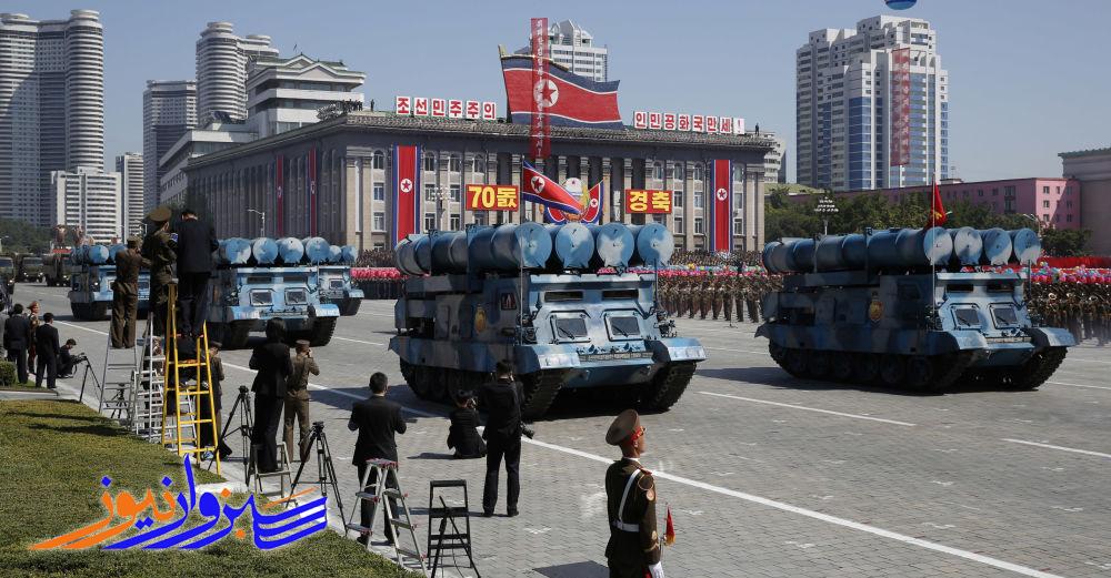 کره شمالی از یک موشک بالستیک با قابلیت شلیک از زیردریایی رونمایی کرد