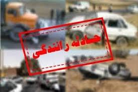 واژگونی اتوبوس در جاده تهران - مشهد
