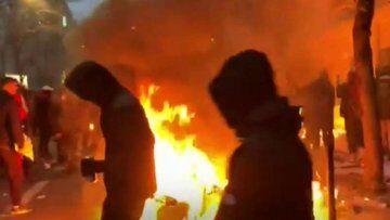 اعتراضها در فرانسه رنگ و بوی امنیتی به خود گرفت