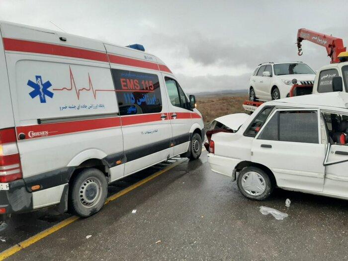 ۱۷ هزار و ۳۸۹ نفر از هموطنان در سوانح ترافیکی مصدوم شدند