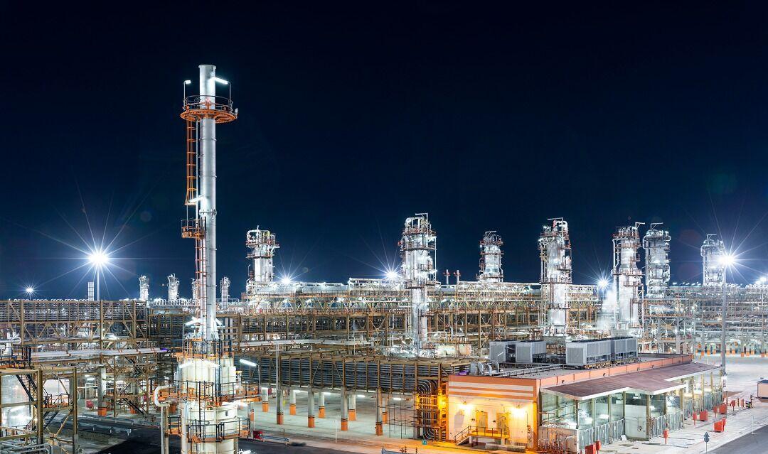 بهره برداری بزرگترین پالایشگاه گازی خاورمیانه