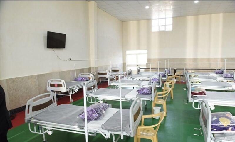 راه اندازی نقاهتگاه بستری موقت بیماران کرونایی در سبزوار
