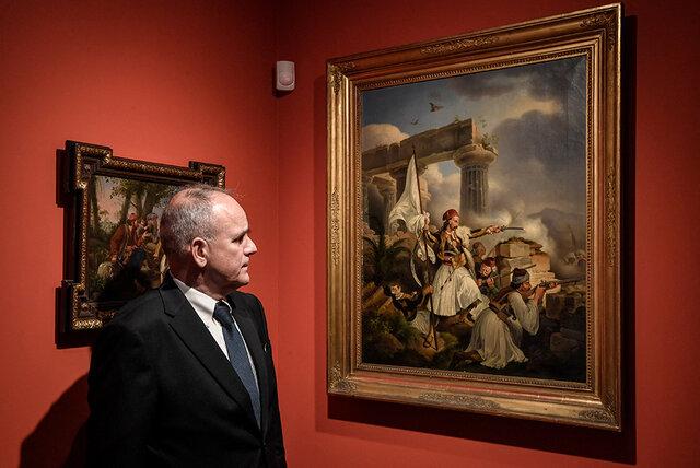 یادبود استقلال یونان در موزههای این کشور