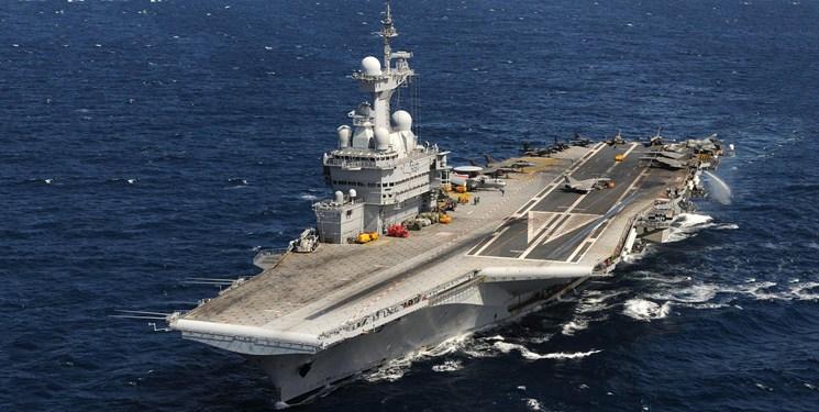 ناو هواپیمابر فرانسه در شرق مدیترانه مستقر میشود