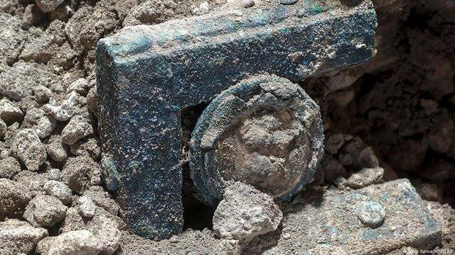 ارابه باستانی در «پمپئی» کشف شد