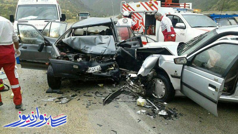 افزایش 65 درصدی تصادفات و مصدومیت ۲۱ هزار نفر در حوادث ترافیکی نوروز ۱۴۰۰