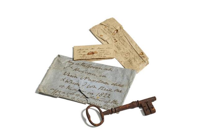 فروش کلید اتاقی که «ناپلئون» در آن از دنیا رفت