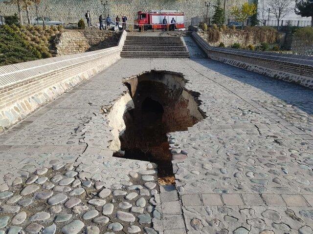 مرمت پل خاتون کرج آغاز شد