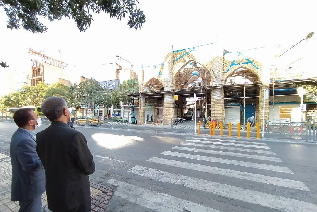 اجرای مرمت بازار تاریخی سرشور مشهد