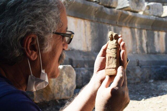 دهها مجسمه سفالی در ترکیه کشف شدند